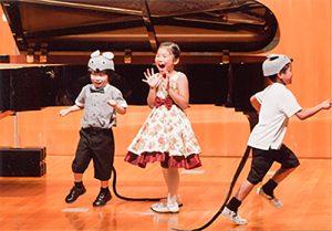 子供のためのピアノ発表会